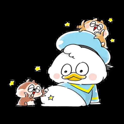 Mickey friends - Meong - Sticker 7