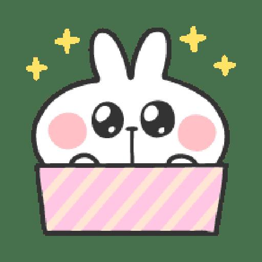 Rabbit Doodle 01 - Sticker 24