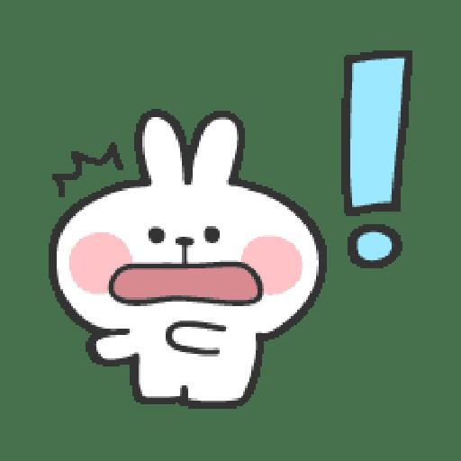 Rabbit Doodle 01 - Sticker 20