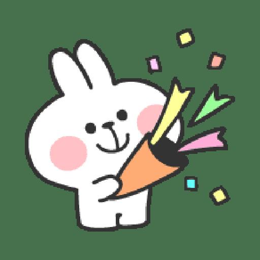 Rabbit Doodle 01 - Sticker 13
