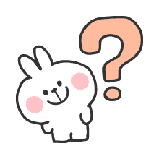 Rabbit Doodle 01 - Sticker 12
