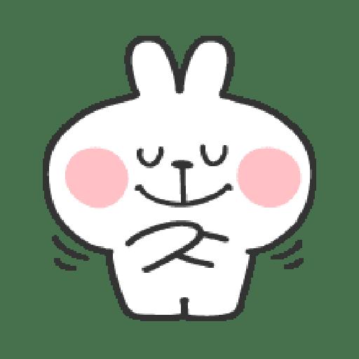 Rabbit Doodle 01 - Sticker 10