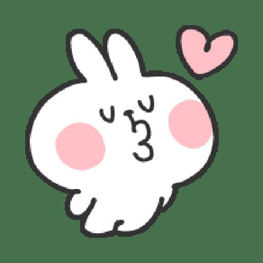 Rabbit Doodle 01 - Sticker 7