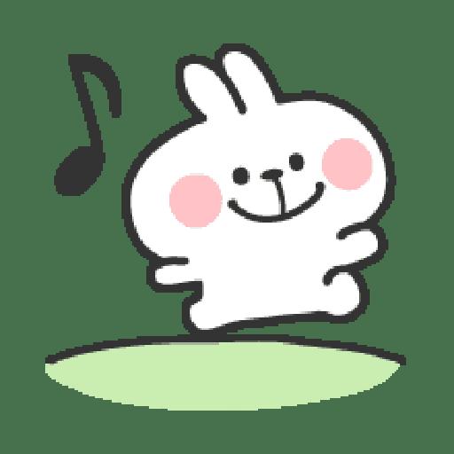 Rabbit Doodle 01 - Sticker 6