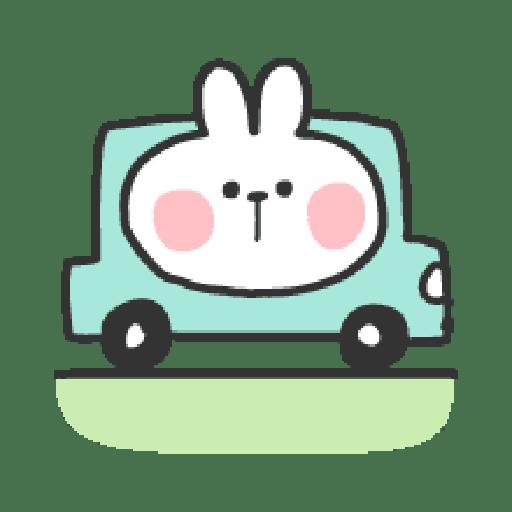 Rabbit Doodle 01 - Sticker 25