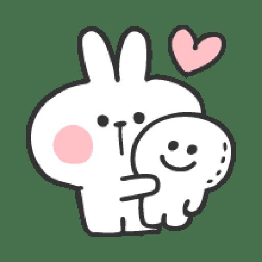Rabbit Doodle 01 - Sticker 23