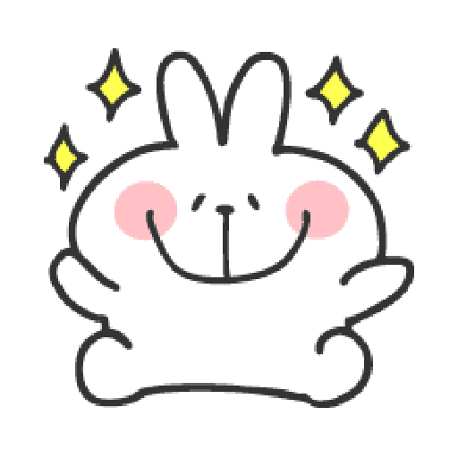 Rabbit Doodle 01 - Sticker 27