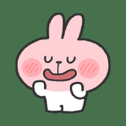 Rabbit Doodle 01 - Sticker 8