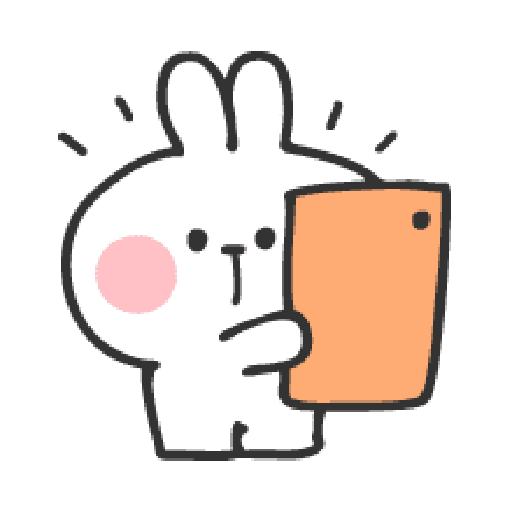 Rabbit Doodle 01 - Sticker 11