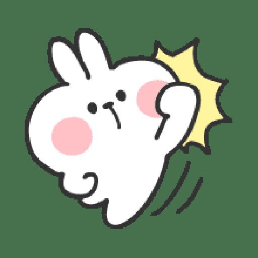 Rabbit Doodle 01 - Sticker 16