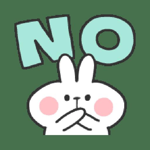 Rabbit Doodle 01 - Sticker 18