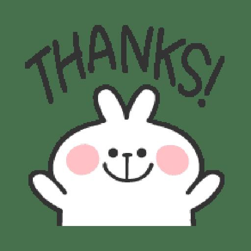 Rabbit Doodle 01 - Sticker 19