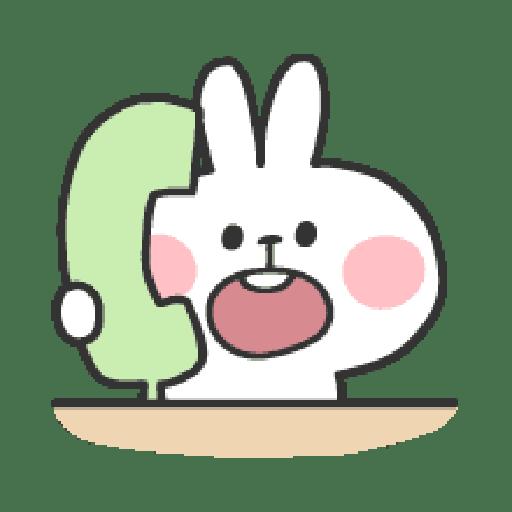 Rabbit Doodle 01 - Sticker 2