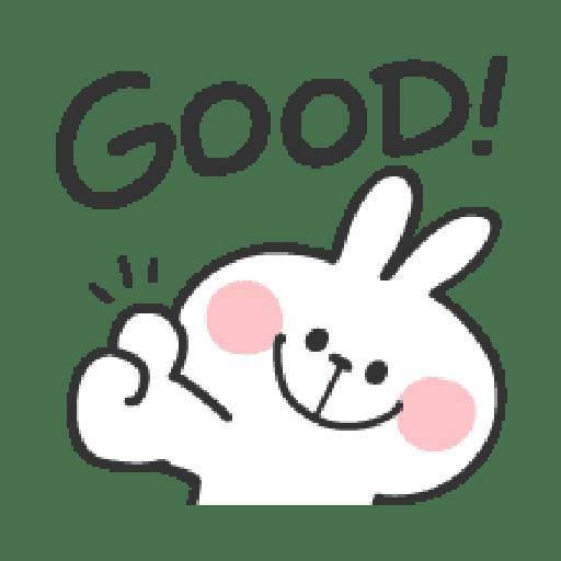 Rabbit Doodle 01 - Sticker 5