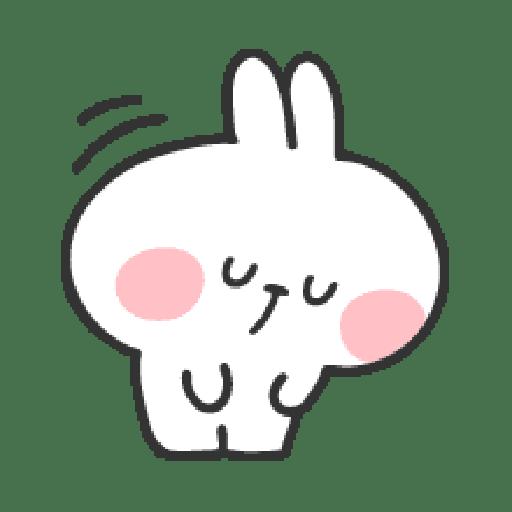 Rabbit Doodle 01 - Sticker 22