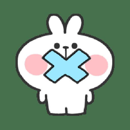 Rabbit Doodle 01 - Sticker 29