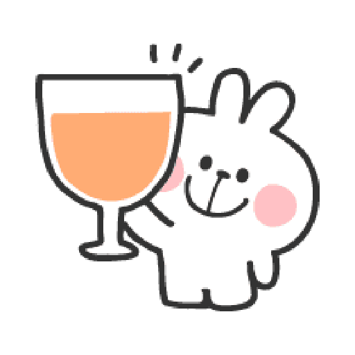 Rabbit Doodle 01 - Sticker 14