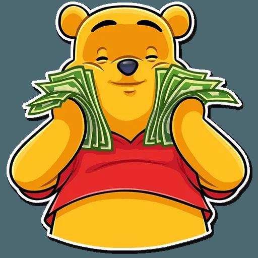 Winnie The Pooh - Sticker 5