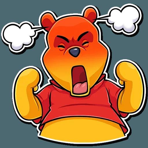 Winnie The Pooh - Sticker 2