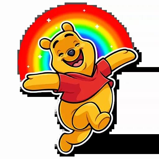 Winnie The Pooh - Sticker 25