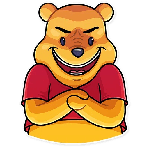 Winnie The Pooh - Sticker 12