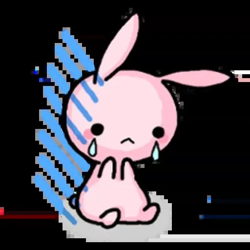Rabbit pink - Sticker 15