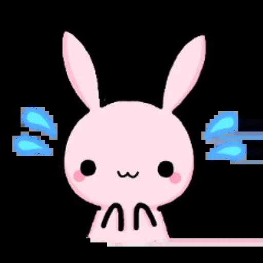 Rabbit pink - Sticker 11