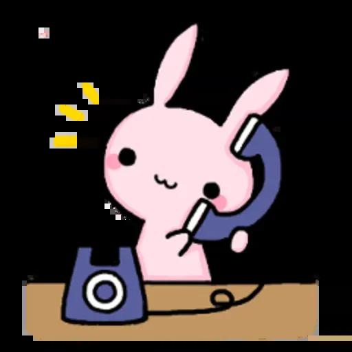 Rabbit pink - Sticker 8
