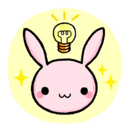 Rabbit pink - Sticker 12