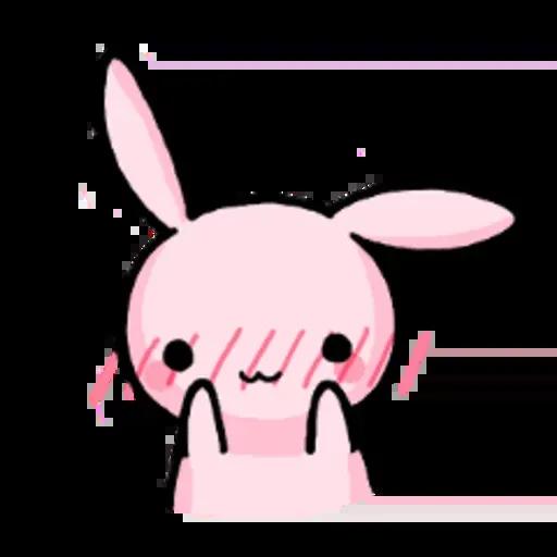 Rabbit pink - Sticker 17