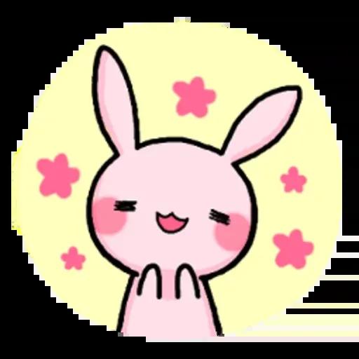 Rabbit pink - Sticker 9