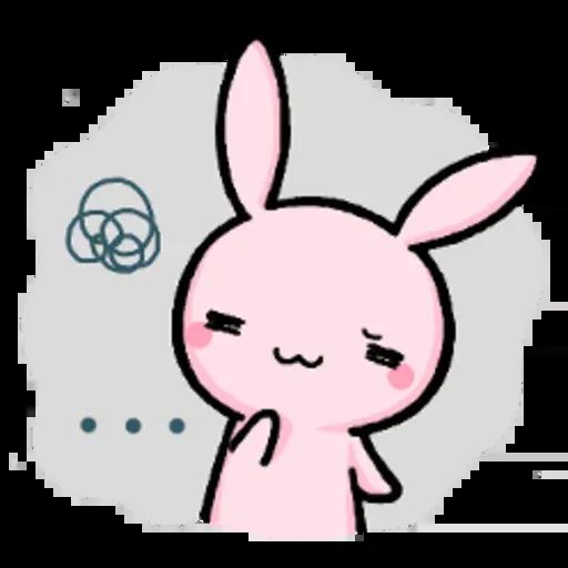 Rabbit pink - Sticker 25