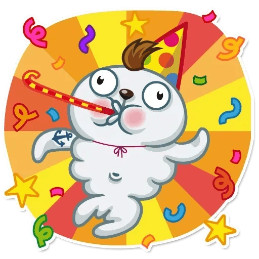 Happy Birthday - Sticker 2