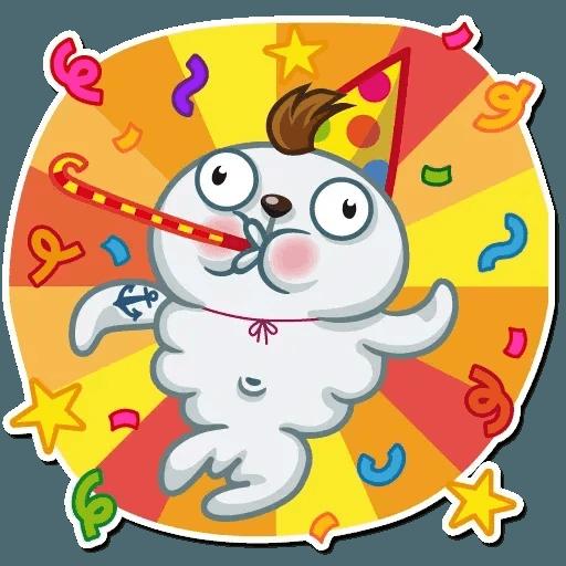 Happy Birthday - Sticker 2