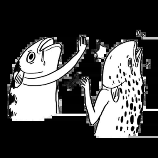 uglyfish - Sticker 15