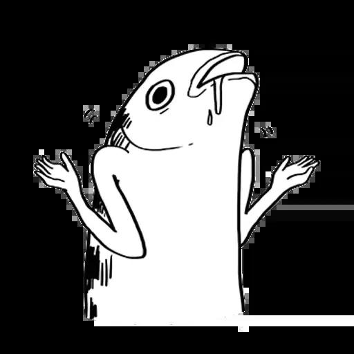 uglyfish - Sticker 6