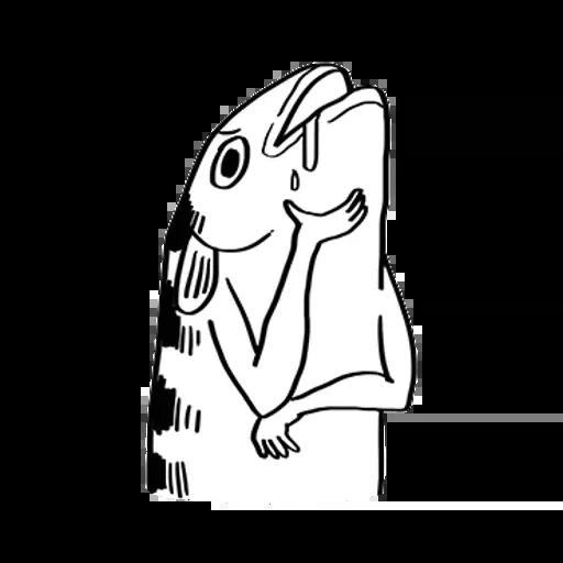 uglyfish - Sticker 26