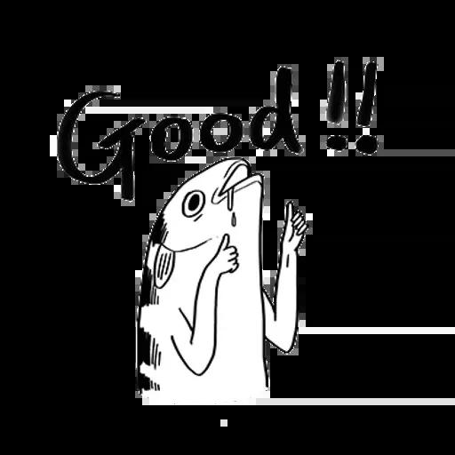 uglyfish - Sticker 2