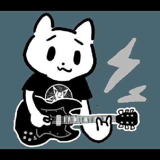 幹幹貓 - Sticker 24