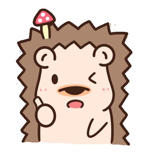 哈利森林 日常whatsapp stickers - Sticker 8