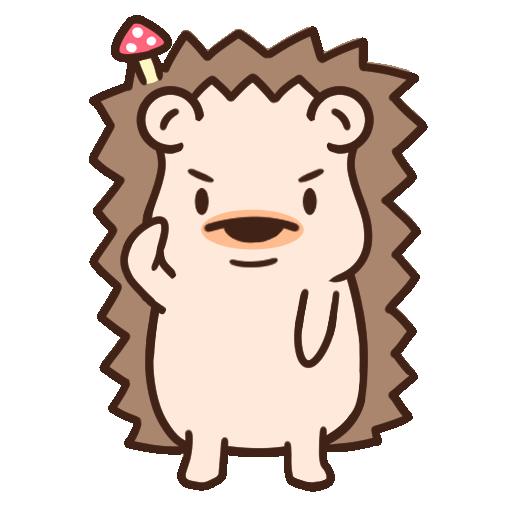 哈利森林 日常whatsapp stickers - Sticker 4