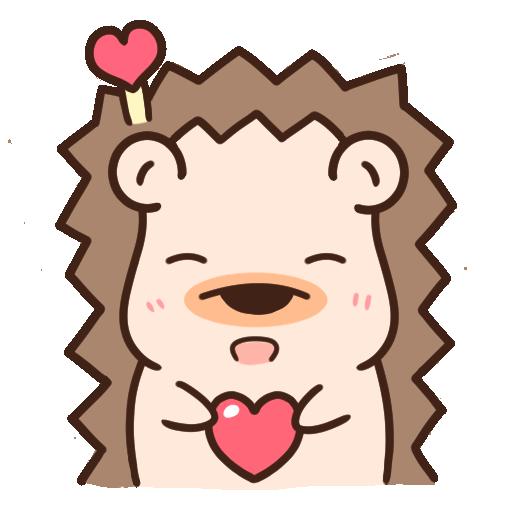 哈利森林 日常whatsapp stickers - Sticker 6