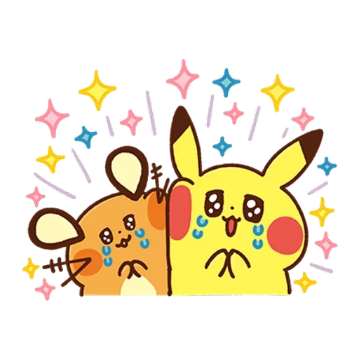 Pokemon Yurutto - Sticker 13