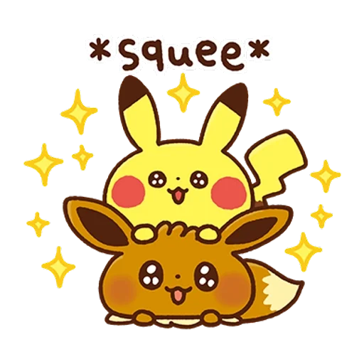 Pokemon Yurutto - Sticker 23