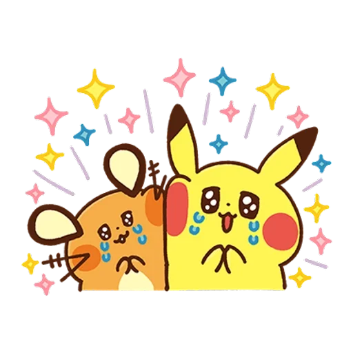 Pokemon Yurutto - Sticker 24