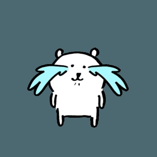 自我吐糟的白熊4 - Sticker 12