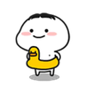 乖巧小老弟2 - Tray Sticker