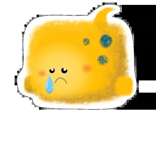 yellow like Cube - Sticker 16