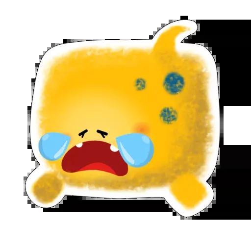 yellow like Cube - Sticker 17