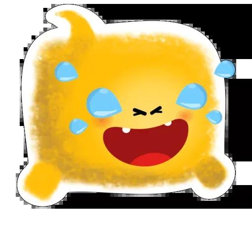 yellow like Cube - Sticker 11